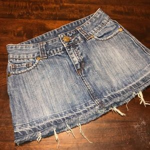Hurley Jean Skirt Juniors Sz 1